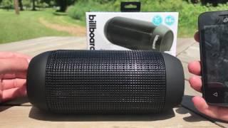 billboard water resistant wireless speaker review