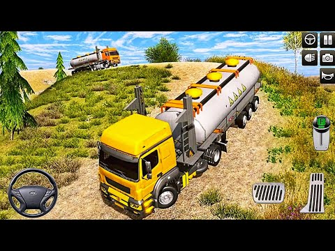Oil Tanker Transport Offroad Truck Driver - #1 Truck Driving Simulator - Android Gameplay FHD