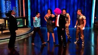 Carlos Espejel, Gloria, y Lagrimita & Costel en Noches con Platanito