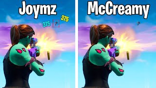 MCCREAMY gave me AIMBOT in Fortnite xd