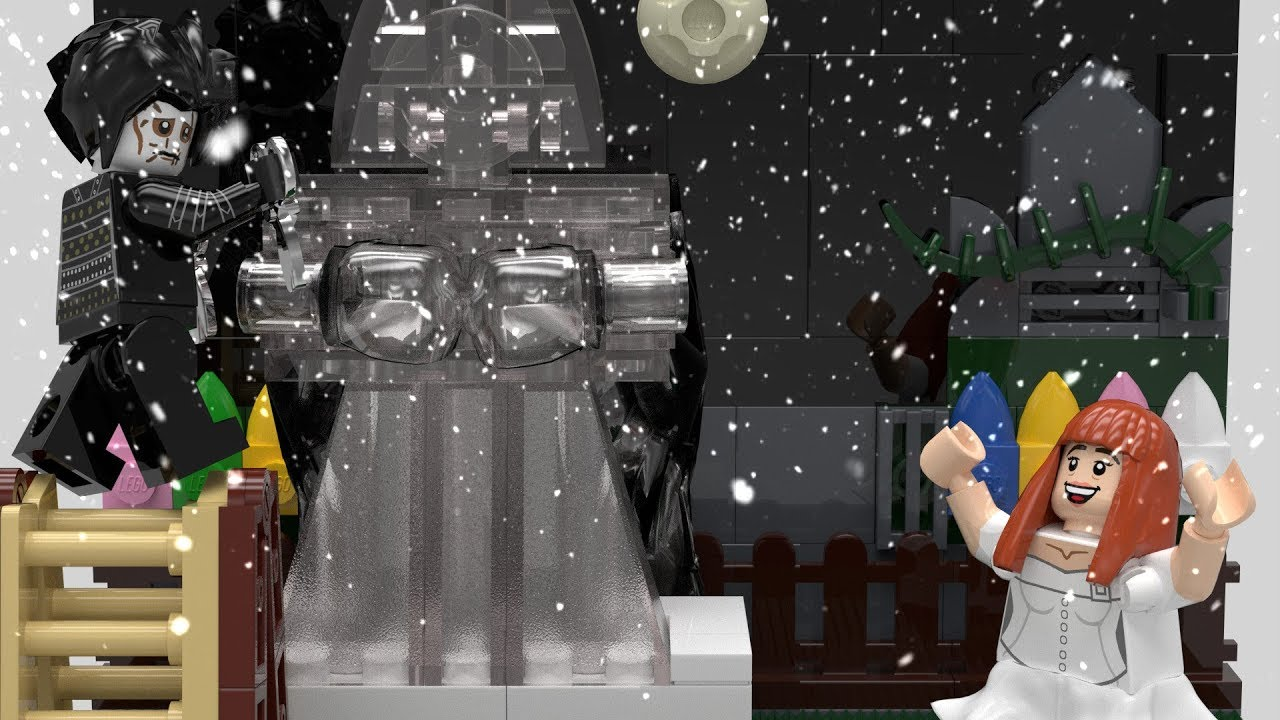Edward Scissorhands Lego