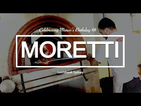 MORETTI Italian Restaurant In LEICHHARDT (SYDNEY, AUSTRALIA)