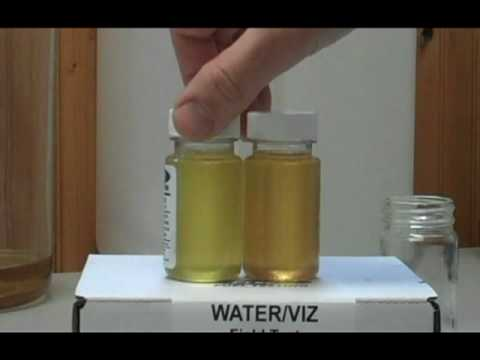 Sel Fuel Test For Water Jetsel Bio Sel Fuels Fuel