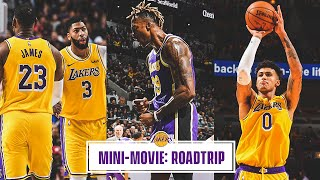 Mini-Movie: Lakers Complete 3-0 Road Trip