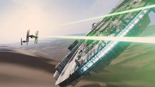 Звездные войны: Эпизод 7. Пробуждение силы - Тизер-трейлер (дублированный) 1080p