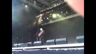 Alain Johannes Holey Dime am Openair Gampel August 2010