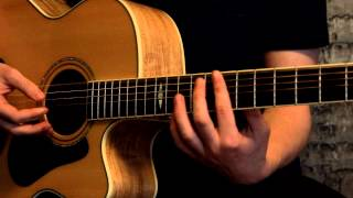 How To Play Everlong By The Foo Fighters On Guitar Acoustic Lesson