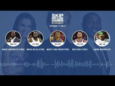 UNDISPUTED Audio Podcast (10.17.17) with Skip Bayless, Shannon Sharpe, Joy Taylor | UNDISPUTED