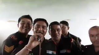 फ़ौजी भाइयों डांस देख बे दिल ख़ुश है जाल ।गीत रूमाली का गांठा गायक फ़ौजी ललित मोहन जोशी लाइव