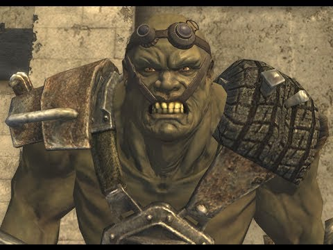 Fallout New Vegas Mean Sonofabitch Super Mutant Youtube