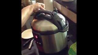 Pressure Cooker Baked Potato