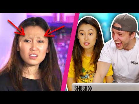 WE REACT TO AN UNAIRED SMOSH SKETCH (Squad Vlogs)
