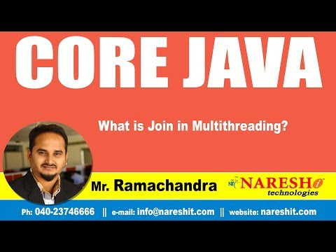 what-is-join-in-multithreading?-|-core-java-tutorial-|-by-mr.ramachandra