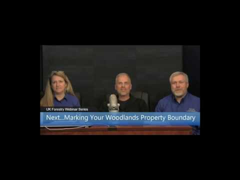 Marking Your Woodland Property Boundary