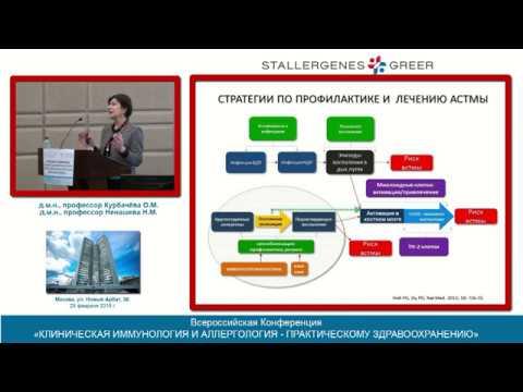 Аллергенспецифическая иммунотерапия (АСИТ). Ненашева Н.М., Курбачева О.М.