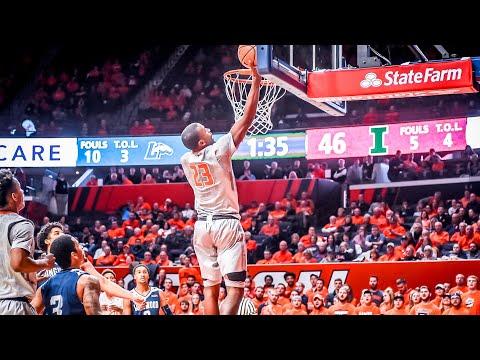 Illinois Men's Basketball Highlights vs. Longwood 12/13/17