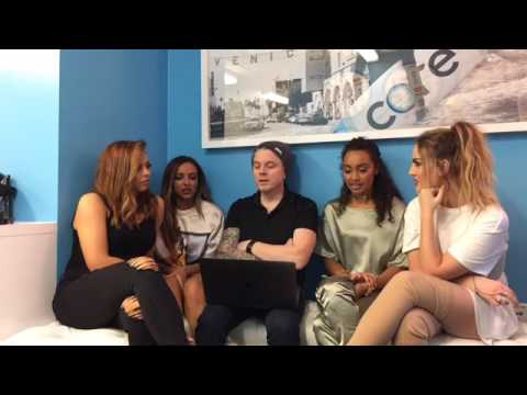 Little Mix Facebook Live Stream with JoJo Wright - Tattoos , Dangerous Women Tour and More !!! 2017