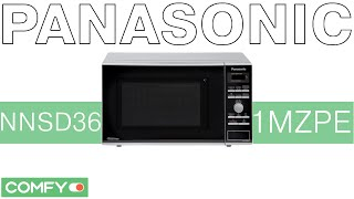 Panasonic NN-SD361MZPE - СВЧ-піч з функцією турборазморозки - Відеодемонстрації від Comfy