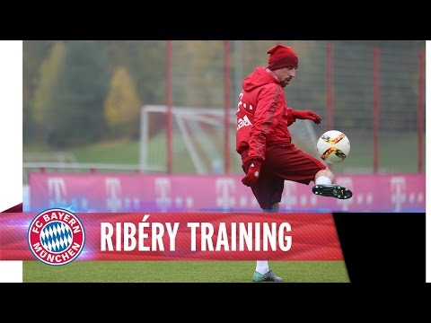 Ribéry back in football boots