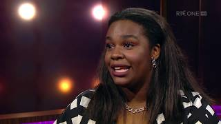 Demi Isaac Oviawe on how school helped with her grief | The Ray D'Arcy Show