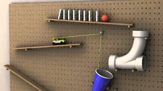 Rube Goldberg 3D Animation