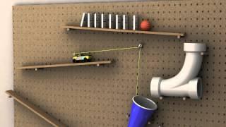 Rube Goldberg 3D Animation
