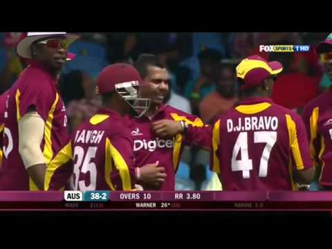 Sunil Narine  PASSIN' LICKS  11 Wickets @ 14 45 vs  Australia    5 Match ODI Series 2012