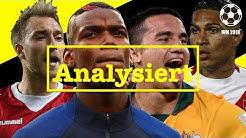 FIFA WM 2018 │Gruppenanalyse Gruppe C (detailliert)