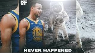 STEPHEN CURRY: Moon Landing was FAKED (2018)