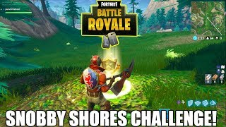 Find the Treasure Map in Snobby Shores!