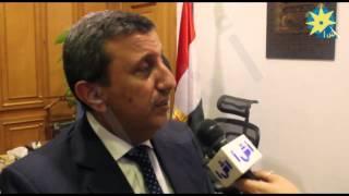 بالفيديو.. رئيس الغرفة التجارية الأردني والمعوقات التي تواجه مصر والاردن في التبادل التجاري