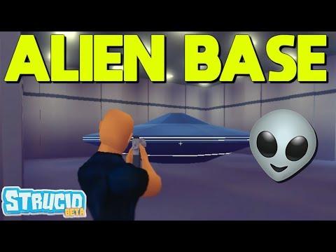 HOW To Get IN THE UNDERGROUND ALIEN BASE (Strucid)