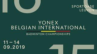 Finals 2019 YONEX Belgian International