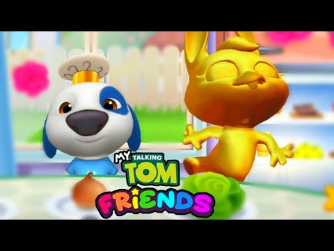MY TALKING TOM Friends|Gameplay -Walkthrough - Part 3 [ios - Android]