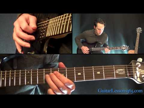 We're Not Gonna Take It Guitar Lesson - Twisted Sister