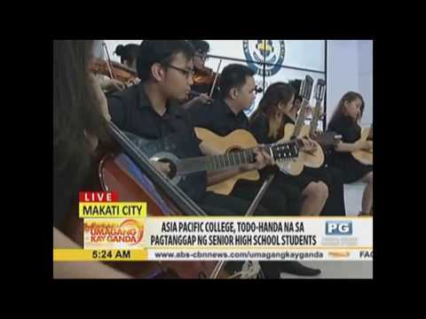 UKG Visits Asia Pacific College