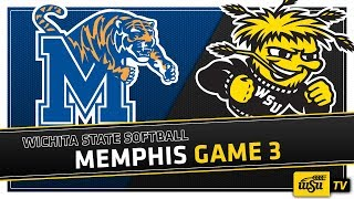 Wichita State Softball :: WSU vs. Memphis Game 3