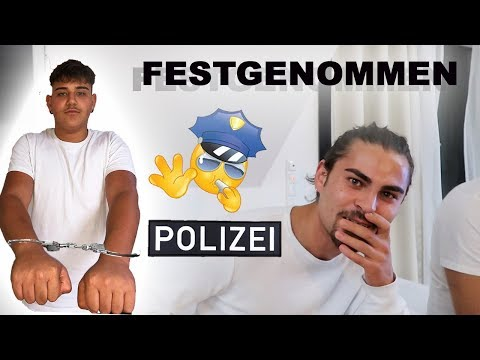 VON POLIZEI FESTGENOMMEN!! 😱PRANK AN GROßEN BRUDER!! | TBATB
