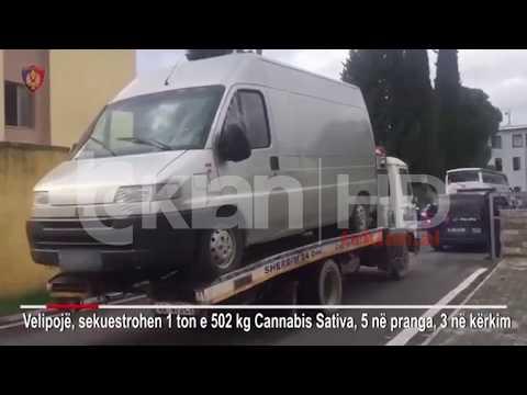 Një telefonate zbuloi 1.5 ton hashash ne Vilun