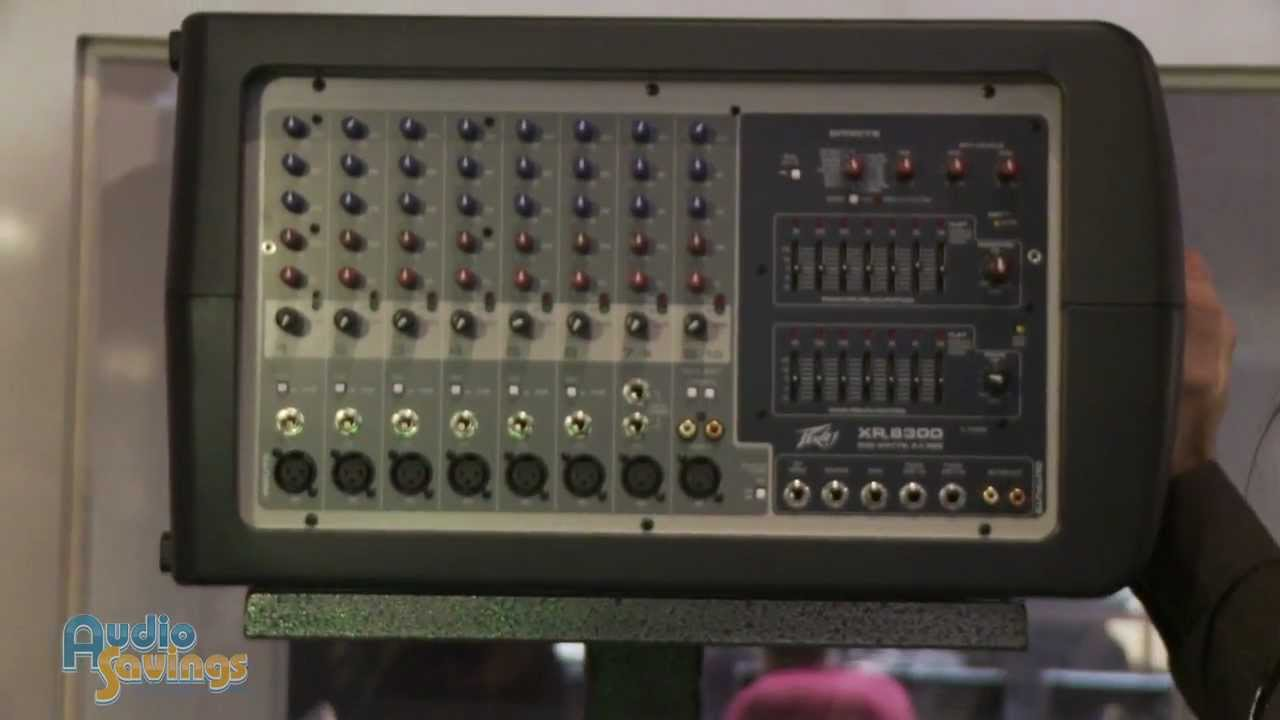 peavey xr 8300 mixer namm 2012 audiosavings youtube rh youtube com peavey xr 2012 powered mixer manual peavey xr 2012 schematic