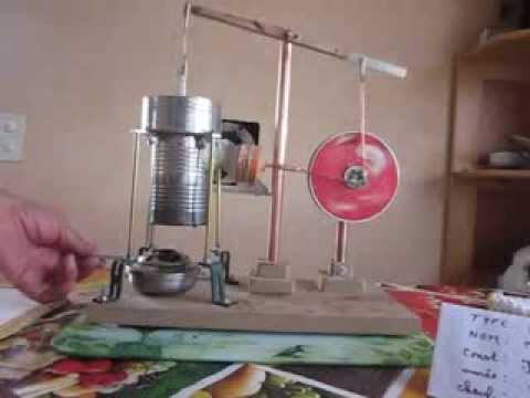 MVI 0001 bricolage moteur Stirling. - YouTube