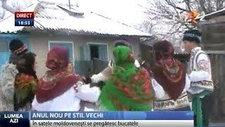 Obiceiuri in ajunul Anului Nou pe stil vechi in Republica Moldova