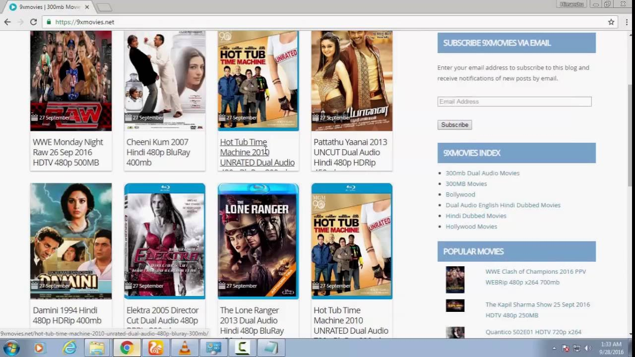 latest movies download websites