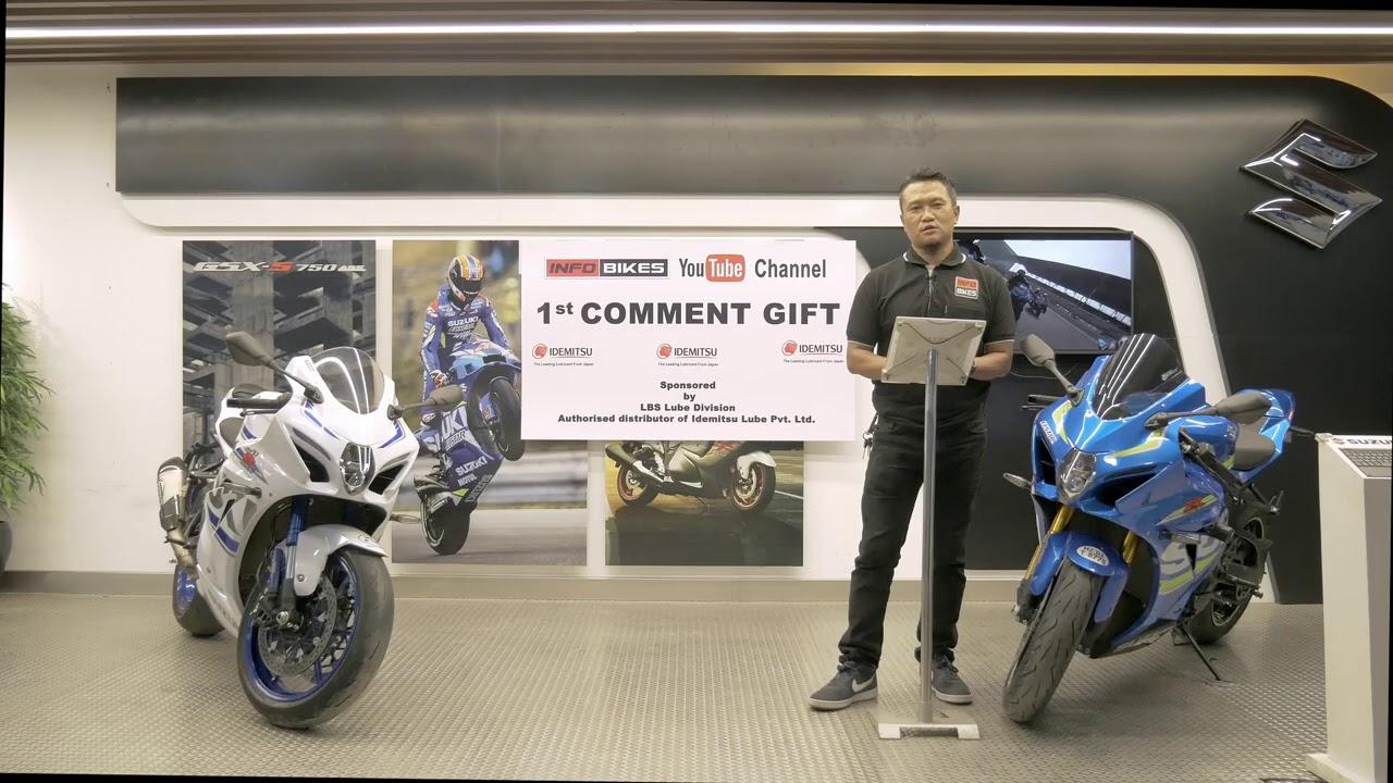 1st Comment Challenge Gift Presentation