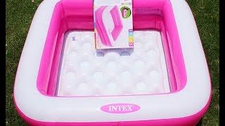 Детский надувной бассейн 57100 intex розовый обзор от valdvoz.in.ua