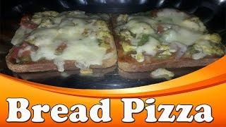 Bread Pizza Recipe | Bread Pizza in Tamil | Egg Bread Pizza Recipe