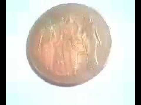 Rice Pulling Coin By Iridium Copper Coin
