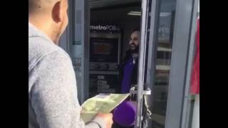 Los Angeles Comedian, almost shot by Metro PCS store owner