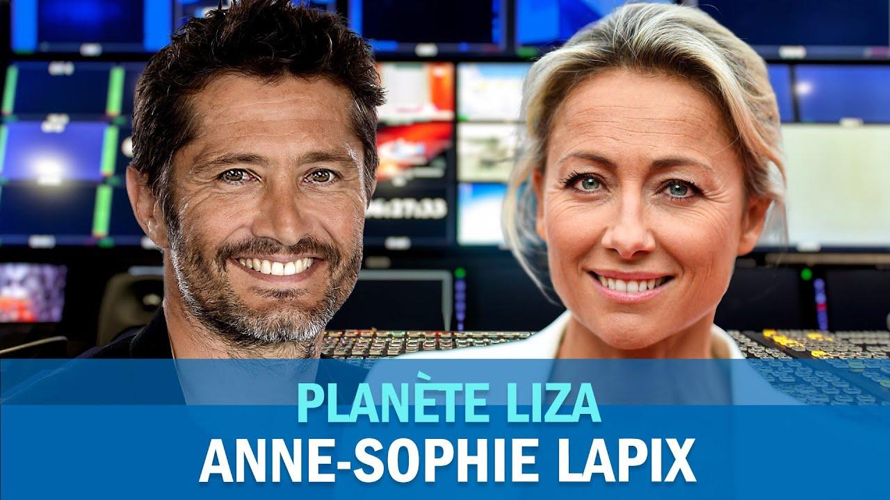 Comment Anne-Sophie Lapix détient l'ADN de Roger Federer !