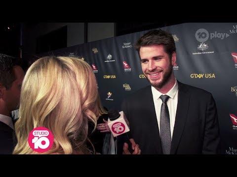 Liam Hemsworth & Helen Reddy Honoured At G'Day USA Gala | Studio 10